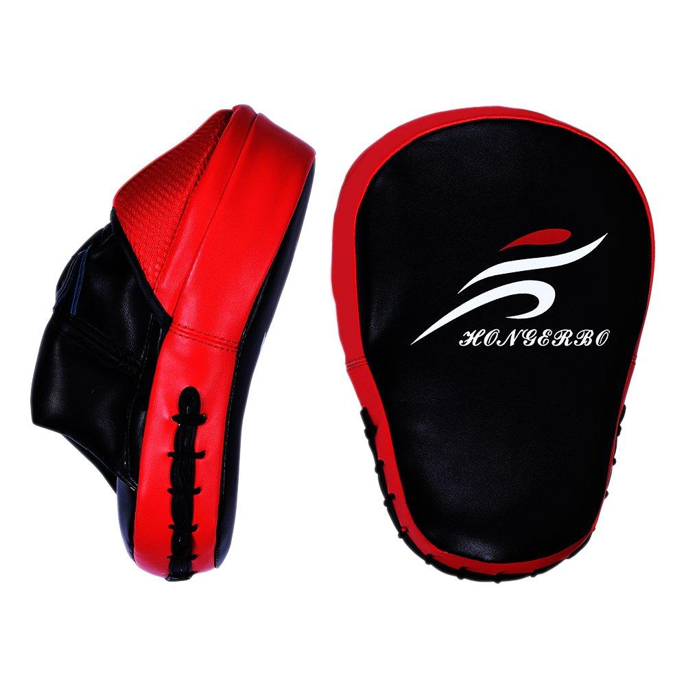 Manoplas Boxeo profesionales para deporte de combate | Almohadillas de perforació n precurvadas | HONG-ER-BO es una marca profesional de Asia | Boxeo, Kickboxing, Savate y má s Savate y más Jiang Xi Hong Er Bo
