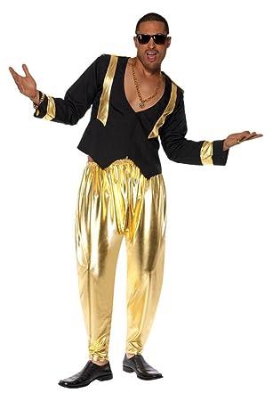Smiffy s Disfraz de rapero de los años 90 para hombre  Amazon.es ... 24e6555bb46
