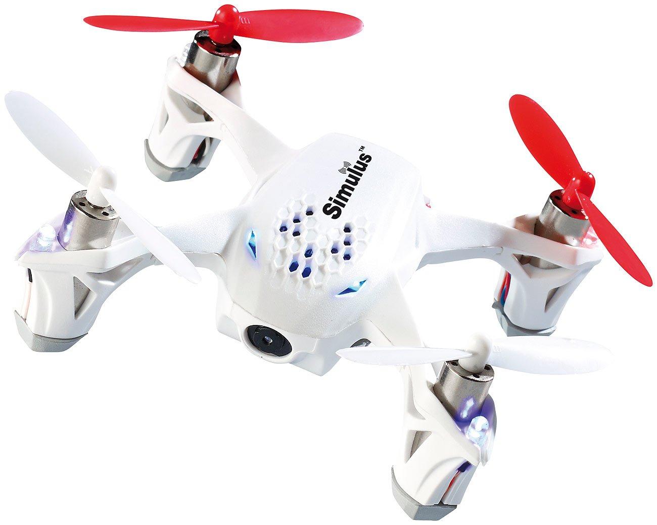Simulus 4-CH-Quadrocopter GH-4.LIVE mit FPV-Kamera & Remote-Monitor