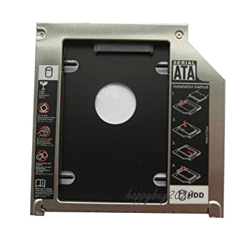 """2nd Hard Drive HDD SSD Caddy Adapter for Macbook PRO 13/"""" A1278 Unibody UJ868A"""