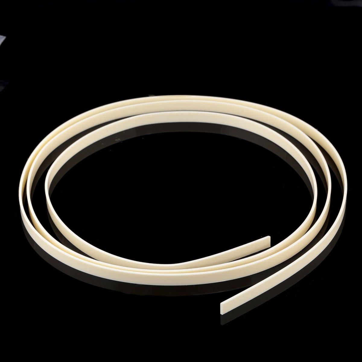 Musiclily 1650x7x1.5mm Plastic Binding Purfling