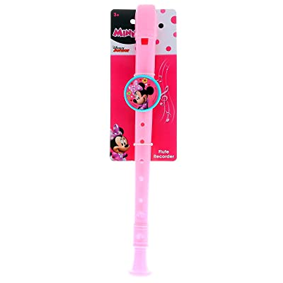 KidPlay Products Minnie Mouse Kids Flute Recorder Musical Instrument Toy: Toys & Games