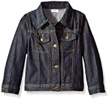 Wrangler Toddler Boys' Authentics Denim Jacket, Ocean Deep, 4T