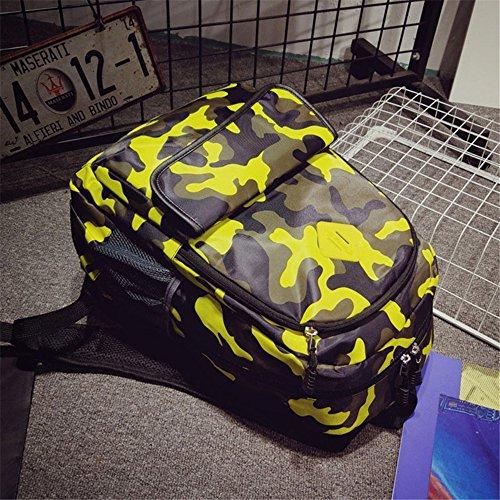 hombre hombro Bolso amarillo Amarillo JUND al Amarillo para q4WzwwIxnE