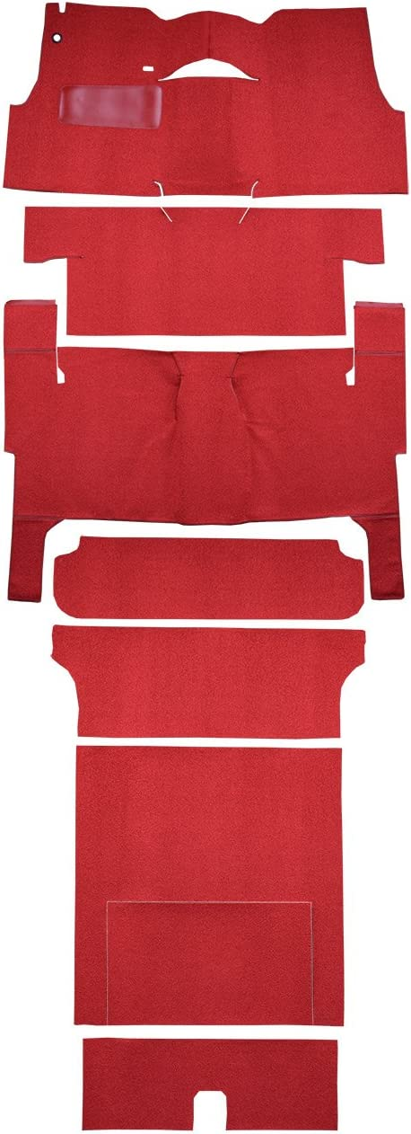 ACC 1956 Chevy Bel Air Nomad Carpet Replacement Fits: 2DR Wagon Loop Complete Complete Bench Seat Factory Fit