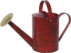 Robert Allen Home & Garden MPT01184 Metal Watering can, 1 Gallon, Autumn Blaze