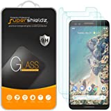 (3 Pack) Supershieldz Designed for Google (Pixel 3) Tempered Glass Screen Protector Anti Scratch, Bubble Free
