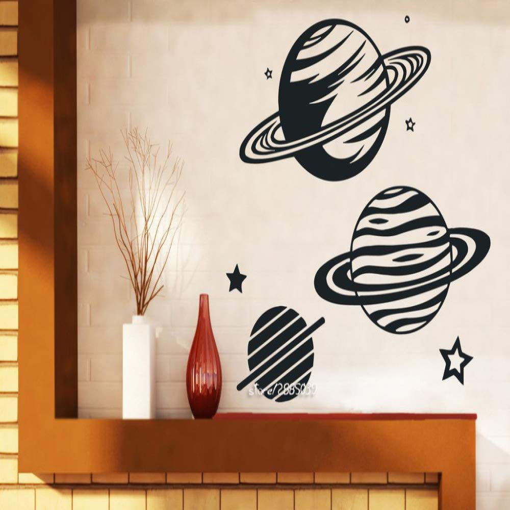 wukongsun Planetario Planeta Vinilo Etiqueta de la Pared Estrella ...