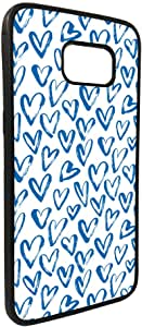 hearts Printed Case for Galaxy S7