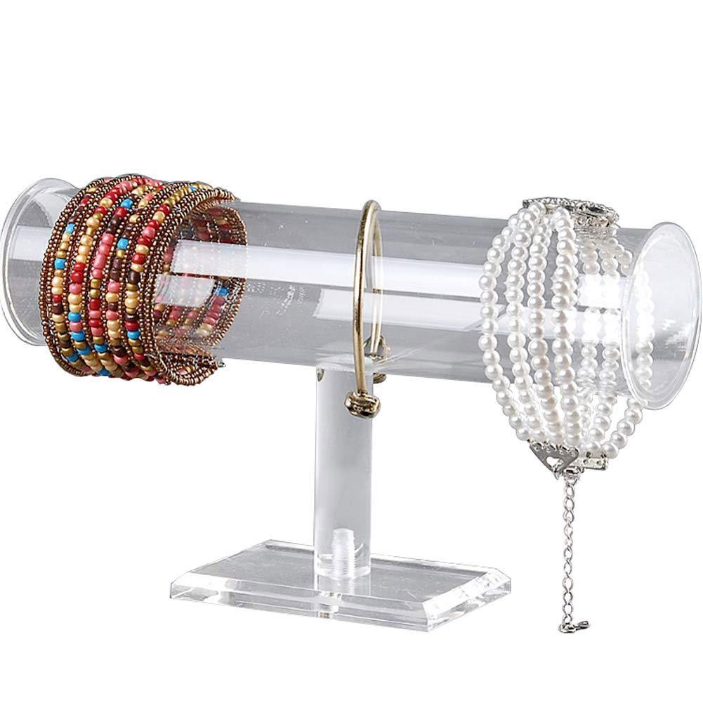 Z.N.Z 100Pcs Acrylic Removable Bracelet Display Holder Stand