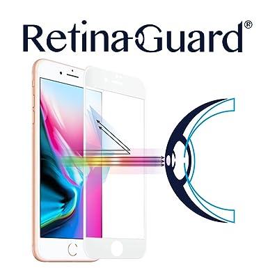 retinaguard Anti luz Cristal Templado Protector de Pantalla para iPhone 8 Plus – SGS & Intertek