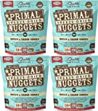 Primal Freeze-Dried Nuggets Chicken & Salmon Formula for Cats 56oz (4 x 14oz)