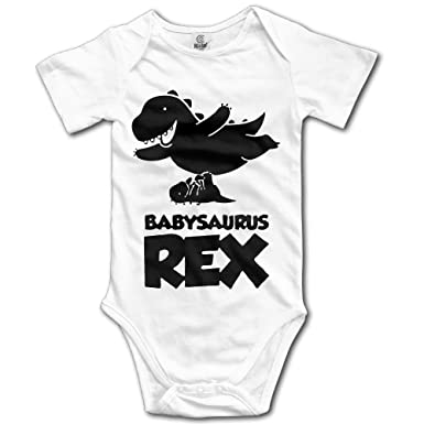 Amazon Com Infant Boys Girls Baby Saurus T Rex Baby Onesies