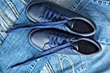 Home Comforts Acrylic Face Mounted Prints Shoe Laces Sports Shoes Blue Gym Shoes Shoes Jeans Print 20 x 16. Worry Free Wall Installation - Shadow Mount is Included.