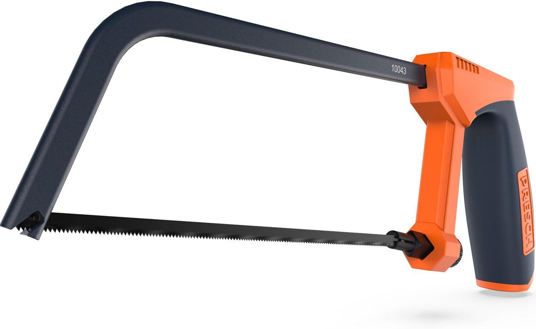 Presch sierra de arco 150 mm - pequeña sierra manual con hoja cambiable para metal - sierra multifuncional