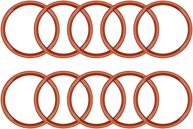 6mm OD Seal Gasket 30pcs 2mm Inner Diameter uxcell/® Silicone O-Rings 2mm Width