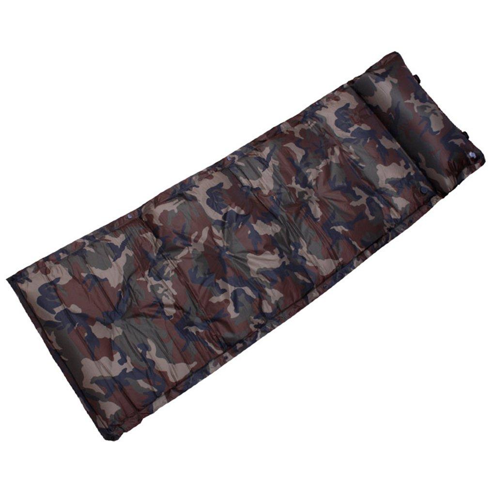 TYJ Picknick-Decken Im Freien Aufblasbare Auflage-kampierende Einzelne Feuchtigkeitsfeste Auflage-Zelt-Luft-Kissen