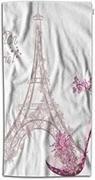 Asian Butterfly of Love NEW DESIGN SET OF 2 BATH HAND TOWELS EMBROIDERED