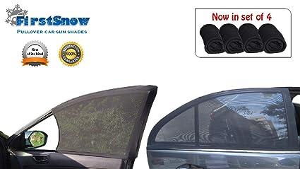 FirstSnow® Pullover Car Window Sun Shades for - Hyundai Xcent Grand i10    Era 67ff4155b1d