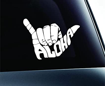 Amazon Shaka Aloha Hang Loose Decal Vinyl Stickercars Trucks