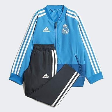 adidas Real Pre I Chándal, Unisex bebé, Multicolor (azuart/azreos/blabas), 92: Amazon.es: Ropa y accesorios
