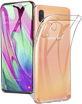 A-VIDET Funda Samsung Galaxy A40, Cubierta Blanda de Silicona ...
