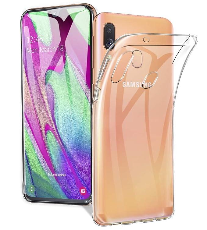 27 opinioni per A-VIDET Cover Samsung Galaxy A40,TPU