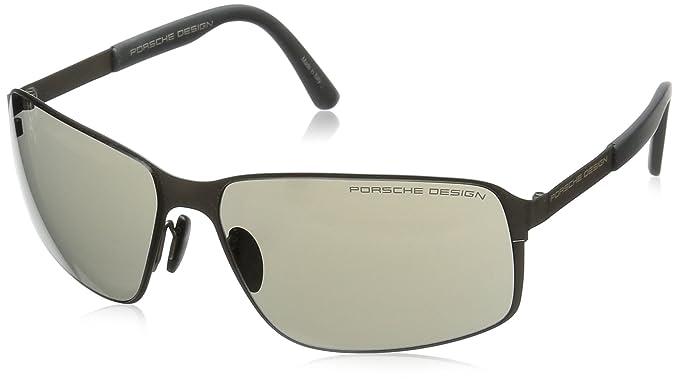Amazon.com: Porsche anteojos de sol p 8565 Gafas de sol C ...