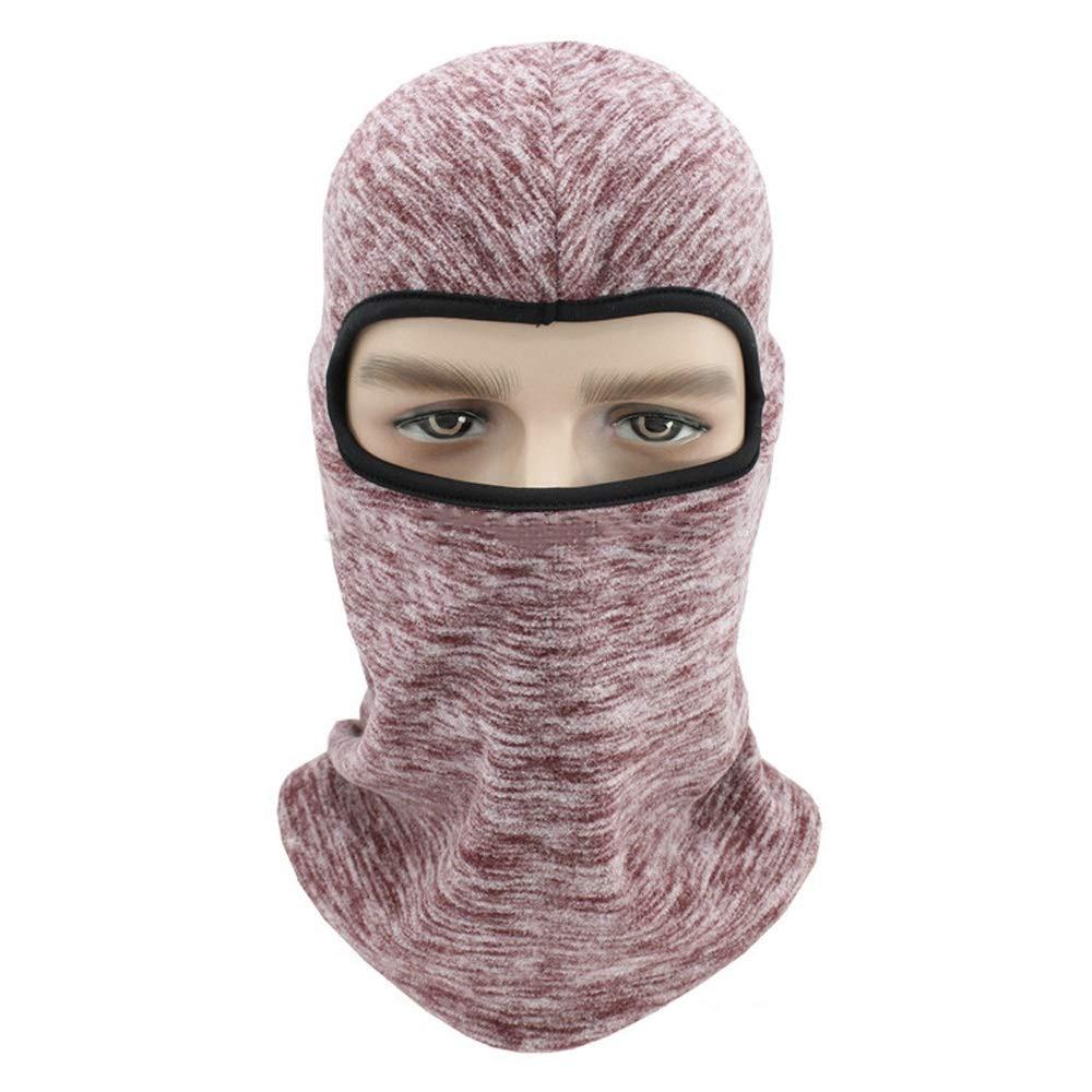 WSYHXMMask Dust Mask Ski Fleece Mask Cation Riding Mask Cap Outdoor Balaclava mask (Color : D)