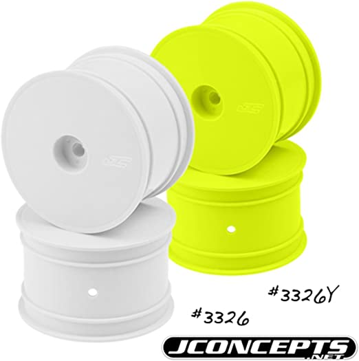 4 JCO3326Y JConcepts Mono TLR 22 Rear Wheel Yellow TLR 22