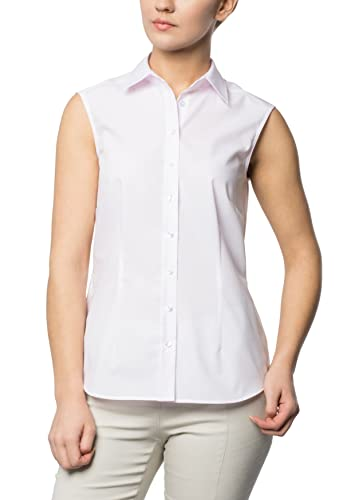 ETERNA without sleeves Blouse COMFORT FIT