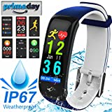 Best Start Calorie Counting Watches - Fitness Tracker, Bluetooth Heart Rate Monitor Smart Wristb Review