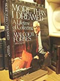 More Than I Dreamed, Malcolm Forbes, 0671671219