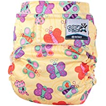SoftBums Omni Shell with Hook and Loop, Flutterby