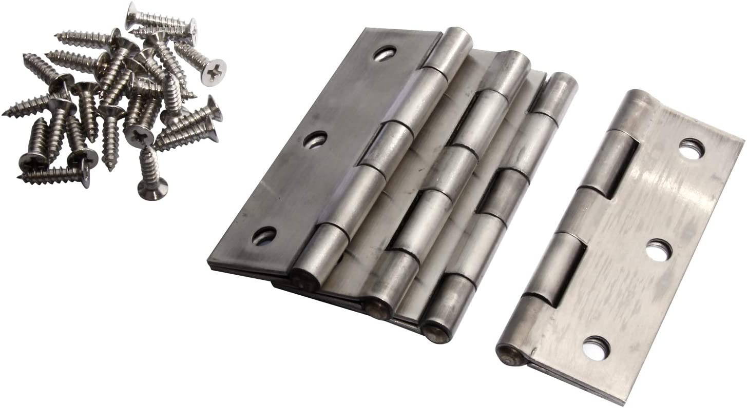 2inch AAA 304 Stainless Steel Butt Hinge for Home Furniture Door Cabinet Hinge 10pcs//lot