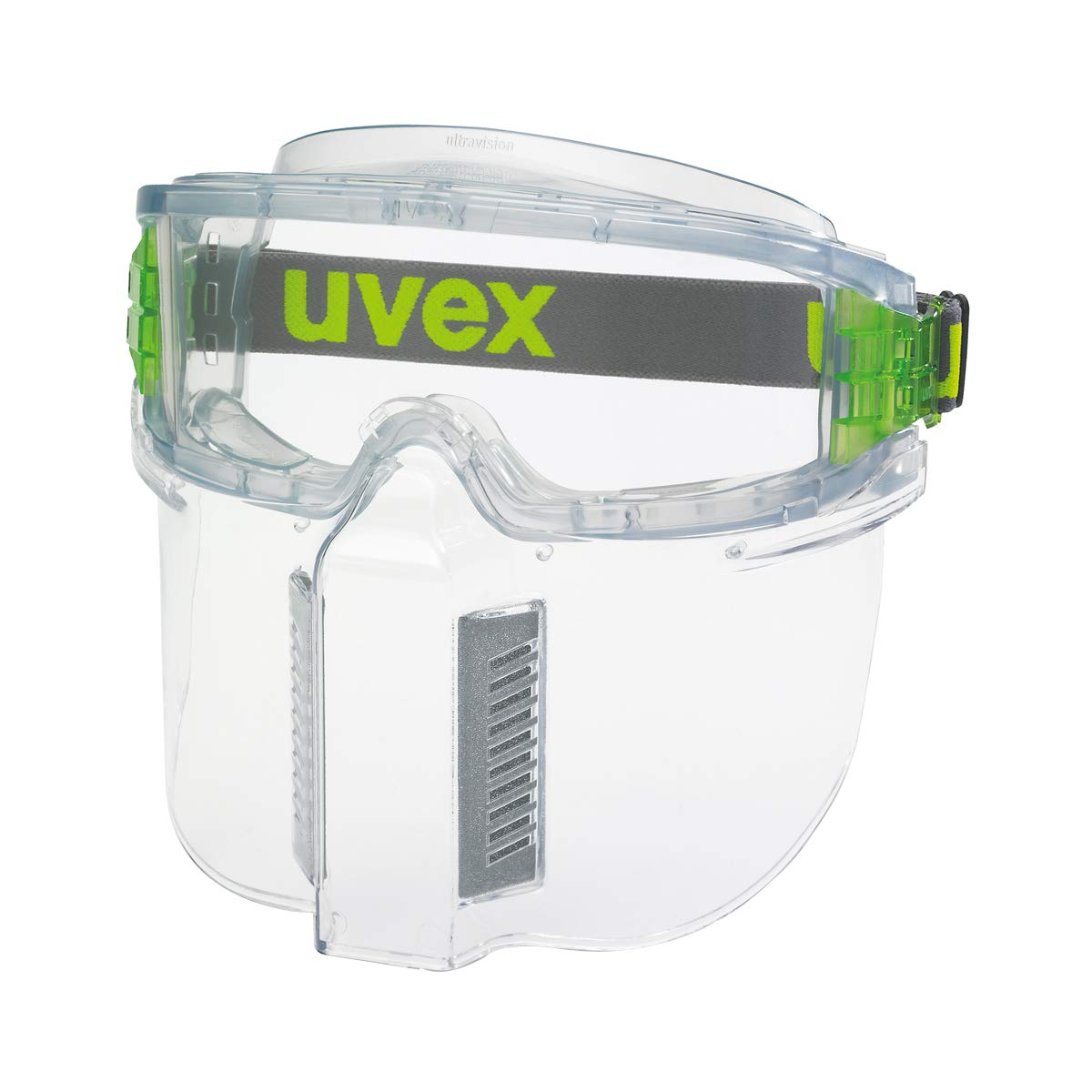 Gafas panorámicas de seguridad ultravision + Visor de protector facial (PACK)