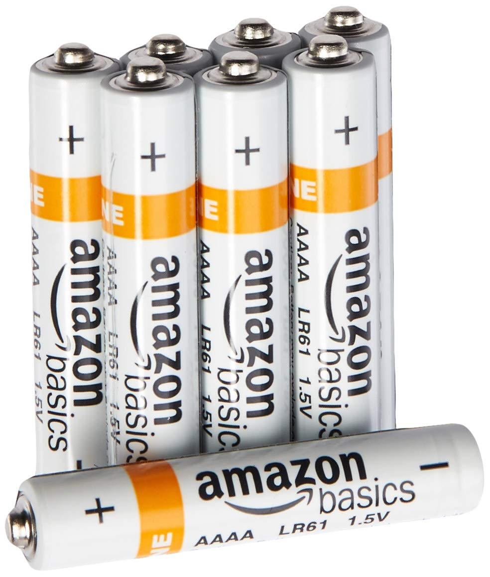 AmazonBasics AAAA Everyday Alkaline Batteries (8-Pack) product image