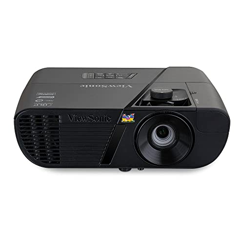 ViewSonic Pro7827HD Proyector LightStream Full HD 1080p Home Cinema Rec 709 1920x1080 3D Vertical Lens Shift 3xHDMI MHL altavoces color negro mate