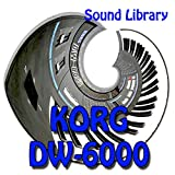 KORG DW-6000 - Large Original Factory & NEW Created Sound Library/Editors on CD or download
