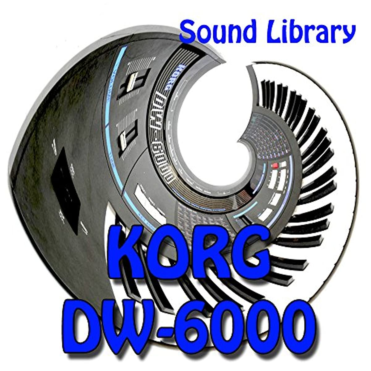 [해외] KORG DW-6000 ORIGINAL FACTORY & NEW CREATED SOUND LIBRARY/EDITORS ON CD