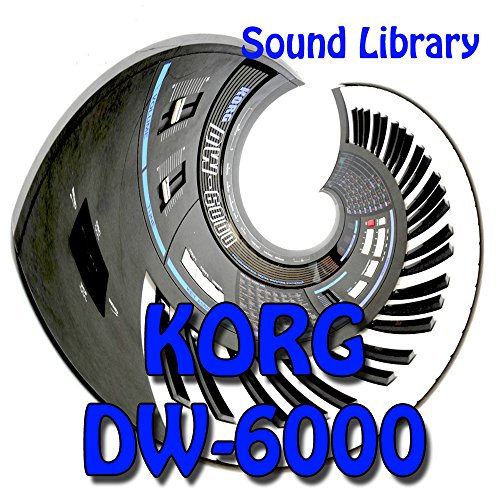 KORG DW-6000 - Large Original Factory & NEW Created Sound Library/Editors on CD or download by producer-tools