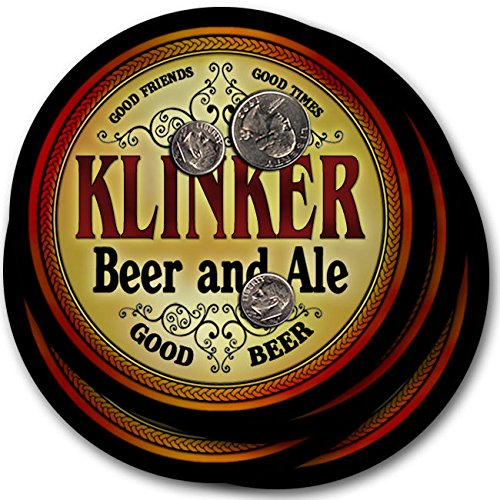 Klinkerビール& Ale – 4パックドリンクコースター   B003QXV85O