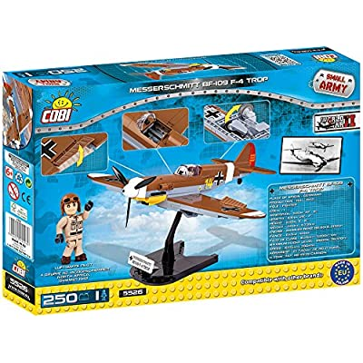 COBI Historical Collection Messerschmitt Bf 109 F-4 Trop Plane: Toys & Games
