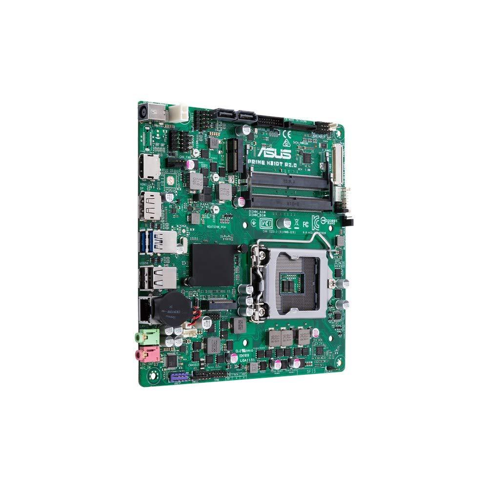 ASUS Prime H310T R2.0 - Placa Base (DDR4-SDRAM, SO-DIMM, 2133,2400,2666 MHz, Intel, Intel® Celeron®, Intel® CoreTM i3, Intel Core i5, Intel Core i7, ...