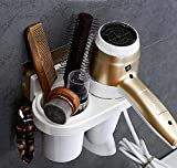 Blow Dryer Holder, FS Heavy Lifting Up To 17 lbs,Wall Mount Hair...