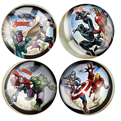 Avengers Bouncy Ball Party Favors, 4ct