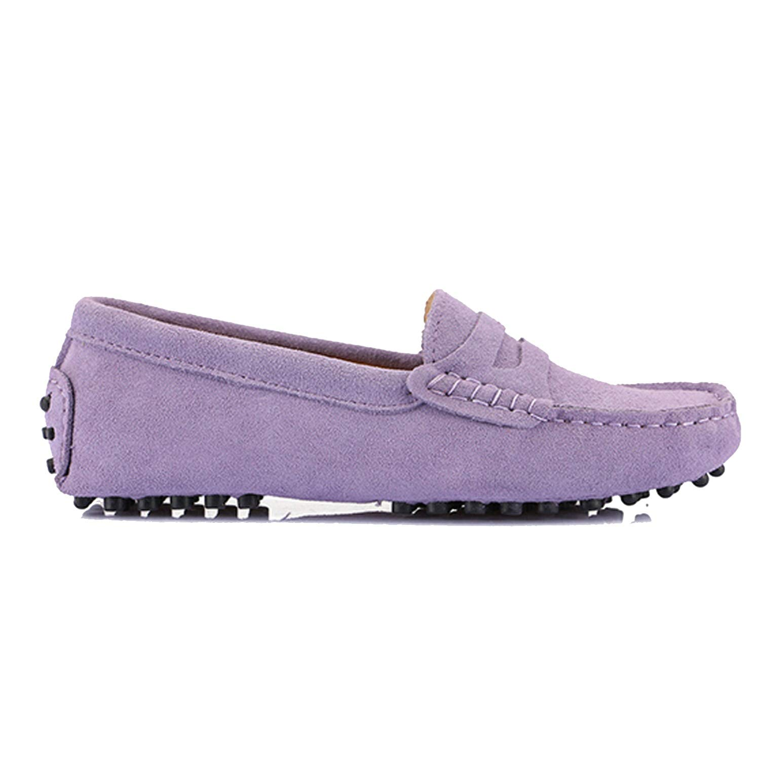 Purple Women's Woman shoes Flats Casual Loafers Soft Slip On Moccasins Lady Driving shoes