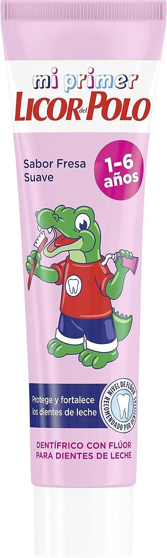 Licor del Polo Dentífrico Junior 1-6 años - Protege y fortalece los dientes de leche - 1 ud de 50 ml: Amazon.es: Alimentación y bebidas