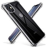 Joyguard Coque iPhone 11 2019, iPhone 11 Coque Souple TPU Silicone [Transparente comme Cristal] [Shock-Absorption] AIR Cushion Protection Coin Housse iPhone 11 - 6.1pouces - Transparent