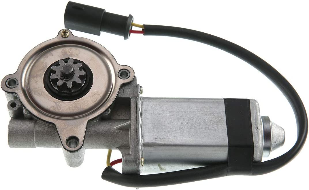 Set of 2 Front Power Window Motor Replacement for 1987-1988 Mercury Cougar Ford Thunderbird